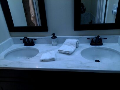 marble bathroom vanity in virginia beach
