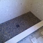 stone shower floor in virginia beach